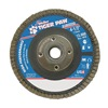 Weiler 51114 Flap Disc, Type 27,4-1/2in. dia.,  60 Grit