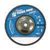 Weiler 51142 Flap Disc, Type 27,7in. dia.,  60 Grit