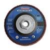 Westward 31EM73 Arbor Mount Flap Disc, 4-1/2in Dia., 120 G