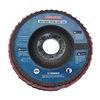 Westward 31EM80 Arbor Mount Flap Disc, 4-1/2in Dia., 120 G