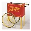 C. Cretors And Company GRKS-X Popcorn Wagon Base, Red, 41-1/4 in. W