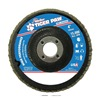 Weiler 51105 Abrasive Flap Disc, Medium, 4in., Phenolic