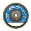 Weiler 51132 Abrasive Flap Disc, Medium, 5in., Phenolic