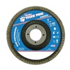 Weiler 51134 Abrasive Flap Disc, Medium, 5in., Phenolic