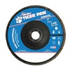 Weiler 51145 Abrasive Flap Disc, Medium, 7in., Phenolic