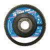Weiler 51160 Abrasive Flap Disc,  Coarse,  4-1/2 in.
