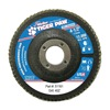 Weiler 51161 Abrasive Flap Disc,  Medium,  4-1/2 in.