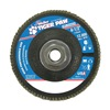 Weiler 51166 Abrasive Flap Disc,  Medium,  4-1/2 in.