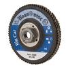 Weiler 50808 Arbor Mount Flap Disc, 4-1/2in, 40, Coarse