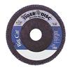 Weiler 50809 Arbor Mount Flap Disc, 4-1/2in, 60, Coarse