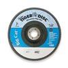 Weiler 50844 Arbor Mount Flap Disc, 7in, 60, Coarse