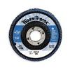 Weiler 50602 Arbor  Flap Disc, 4-1/2,36, Extra Coarse
