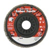 Weiler 50119 Arbor Mount Flap Disc, 4-1/2in, 80, Medium