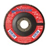 United Abrasives-Sait 78049 Arbor Mount Flap Disc, 7in, 80, Medium