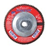 United Abrasives-Sait 78149 Arbor Mount Flap Disc, 7in, 80, Medium