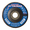United Abrasives-Sait 76206 Arbor Mount Flap Disc, 4-1/2in, 40, Coarse