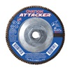 United Abrasives-Sait 76356 Arbor Mount Flap Disc, 7in, 40, Coarse