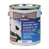 Rae 9610-01 Masonry & Stucco Paint, White, 1 gal.