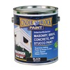 Rae 9612-01 Masonry & Stucco Paint, Black, 1 gal.