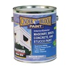 Rae 9618-01 Masonry & Stucco Paint, Medium Gray, 1 gal