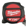 Milwaukee 48-22-5225 Steel 26 ft./8m SAE/Metric Magnetic Tip Tape Measure