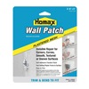 Homax 2297 Wall Patch, Self Adhesive, 6x6in, PK2