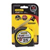 Stanley FMHT33865 Measuring Tape, 25 ft., Steel, 1/16 Grad.