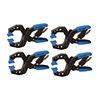 """Palmgren 7DD44 2-1/4""""Nylon Fiberglass, Power Hand Clamp 2-1/4 Max. Jaw Opening (In.)"""