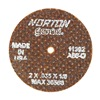 Norton 66243411392 Abrasive Cutoff Wheel, 2 x .035 x 1/8