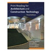 Delmar Learning 9.78113E+12 Ref Bk, Print for Architec, Construc Tech