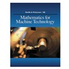 Delmar Learning 9.78143E+12 Ref Book, Mathematics for Machine Techno