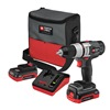 Porter Cable PCL180CDK-2 Cordless Drill/Driver Kit, 18.0V, 1/2 In.