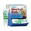 MIRACLE OF ALOE 01008 Oz Pain Relief Rub Dsp, Pack of 12