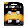 Duracell 66389 Dura4Pk 3V 2016 Battery