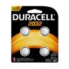 Duracell 66391 Dura4Pk 3V 2032 Battery
