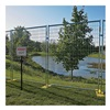 Approved Vendor RF1010WWPC Outdoor Security Fencing - Welded Wire Fence - 6'Hx5' - 8 Panels