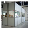 Porta-King FS910-HB Partition Wall - Hardboard - 9'W - 10'
