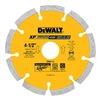 """DEWALT DW4713 4.5""""Diamond Saw Blade"""