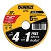 DEWALT DW8062B5 5PK 4.5x.045 Cut Wheel