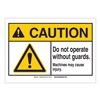 Brady 143957 Caution Sign, 3-1/2in.Hx5in.W, Do Not Op