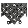 Wearwell 553 Cleated Tiles, Open, 7/8x18x18 In, PK10