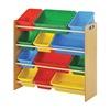 Sandusky KBO341030BC Cubbie Cabinet, Bright Colors, 34in.W