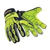 HexArmor 4027 L Cut Resistant Glovs, Abrasion, Impact, L, PR