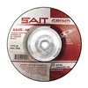 "United Abrasives-Sait 21005 7"" Depressed Center Wheel,  Type 28,  1/4"" x 5/8""-11,  Aluminum Oxide, Pack of 10"