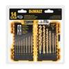 DEWALT DW1354 Drill Bit Set, Titanium, 14 pcs.