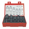 Keo 55098 Drill/Countersink Set, 110 deg., HSS, 7 pcs