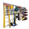 Flow Wall FWS-4812-12SB13 Garage and Hardware Storage Sys, Silver