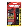 Rayovac DIY3AAA-B Flashlight, LED, Black, 120/19 L, AAA