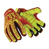HexArmor 2033 M Impact Gloves, M, Slip Fit, PR