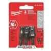 Milwaukee 48-32-5023 Insert Socket Set, 3 Pcs., Holds Sockets